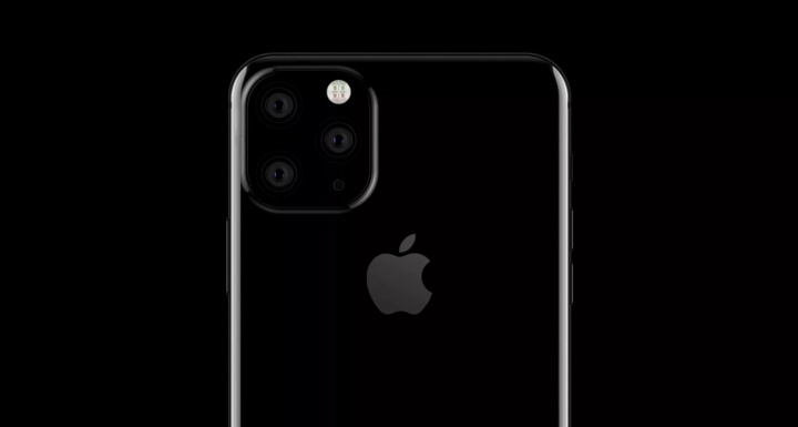 Imagem rumor de provável iphone 11 da Apple