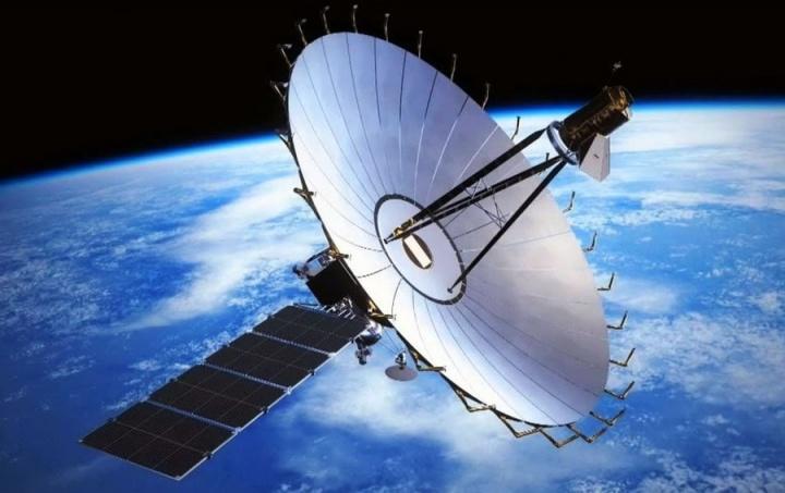 Imagem do satélite da Rússia