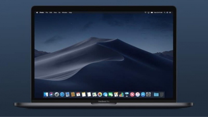 dark mode macOS Apple utilizadores vista