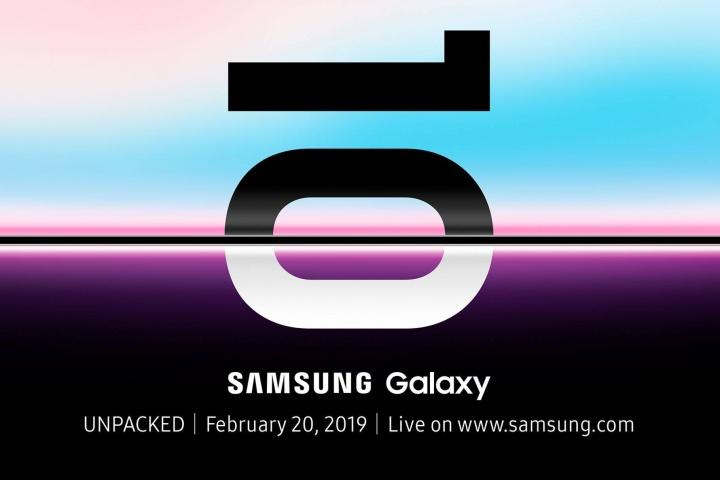 É oficial:  Samsung Galaxy S10 chega no dia 20 de fevereiro!