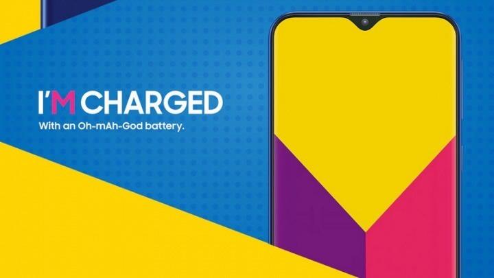 Samsung Galaxy M20, o novo telemóvel com o notch e bateria de 5000mAh