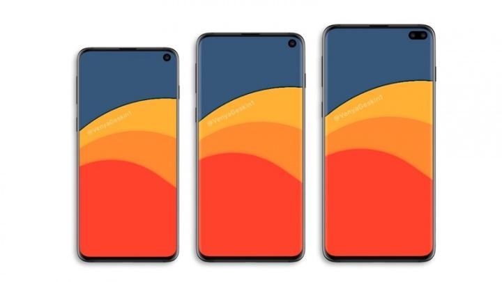 Samsung, Samsung Galaxy, Galaxy S10, Galaxy S10 X, Samsung Galaxy S10