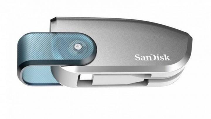 SanDisk pen USB 4TB protótipo