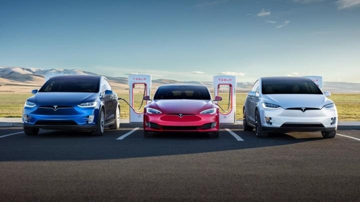 Tesla Supercharger preços eletricidade carregamentos