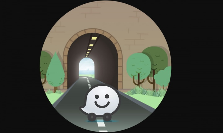 Beacons waze nos túneis de nova iorque para os condutores