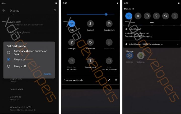 Android Q Google Top 5 sistema operativo