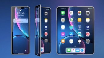 Apple iPhone X Fold Samsung Galaxy Fold