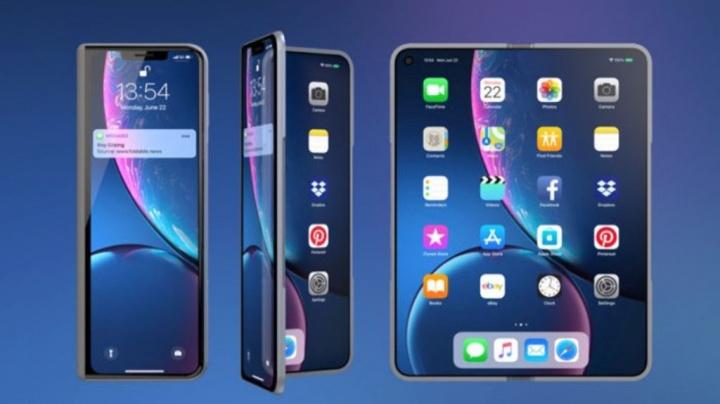 Apple iPhone X Fold Samsung Galaxy Fold