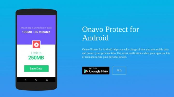 Facebook VPN Android Onavo rede social