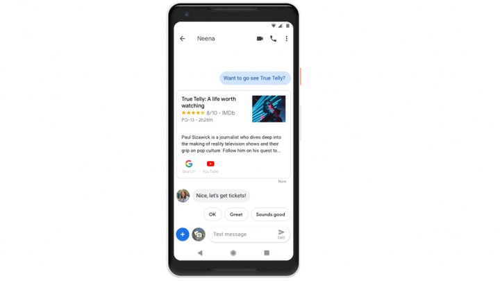 Google Assistant Mensagens Android Assistente