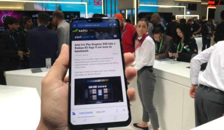LG G8 ThinQ MWC19 Android