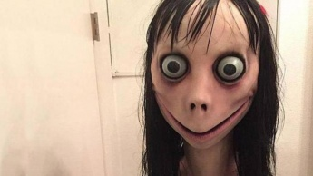 Momo Challenge YouTube WhatsApp