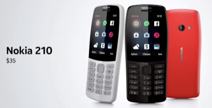 Nokia 210 telemóvel MWC19 1