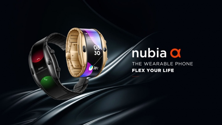 Nubia alpha relógio smartphone MWC19 2 10.47.02