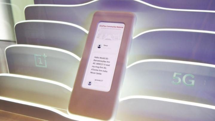 OnePlus 5 5G OnePlus 7 smartphone MWC19