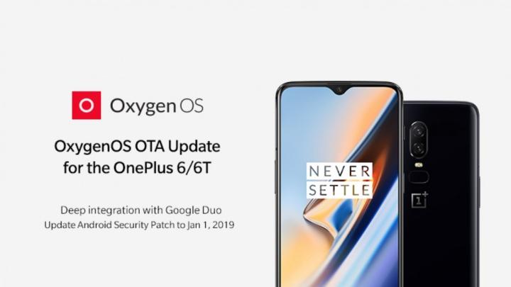 OnePlus 6 OnePlus 6T OxygenOS Google Duo