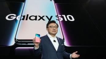 Samsung Galaxy Fold Unpacked 2019 smartphones Android Samsung Galaxy