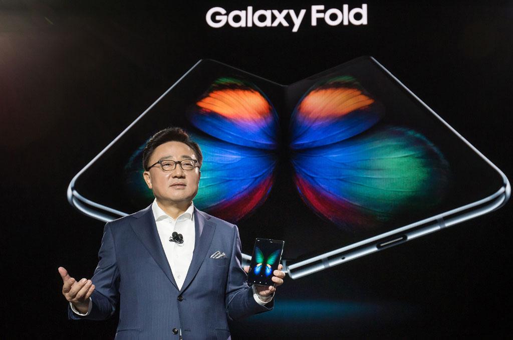 Samsung Galaxy Fold Unpacked 2019 9 smartphone dobrável