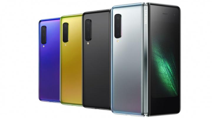 Samsung Galaxy Fold smartphone dobravel