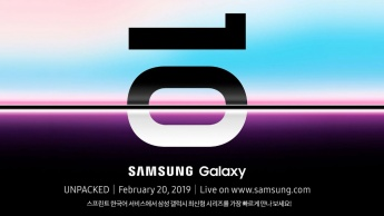 Samsung Galaxy S10 Galaxy Unpacked 2019