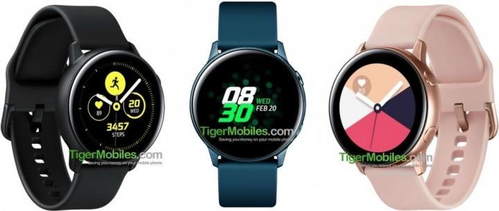Samsung, Samsung Galaxy, smartwatch, 2019, Samsung Galaxy Watch Active