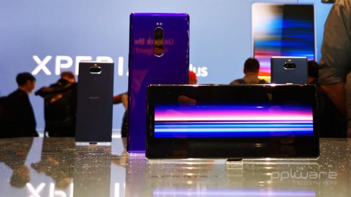 Sony Xperia 1 Sony Xperia 10 Sony Xperia L3 Android smartphones MWC19