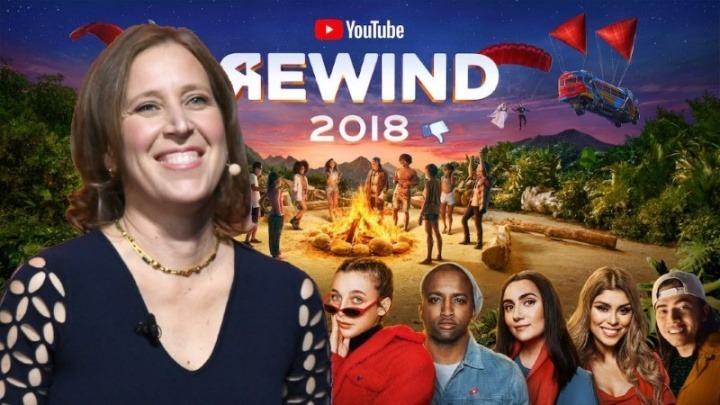 """O YouTube Rewind 2018? Foi """"cringey"""" até para a CEO da empresa"""
