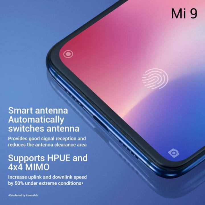Xiaomi Mi 9 smartphone Android 1