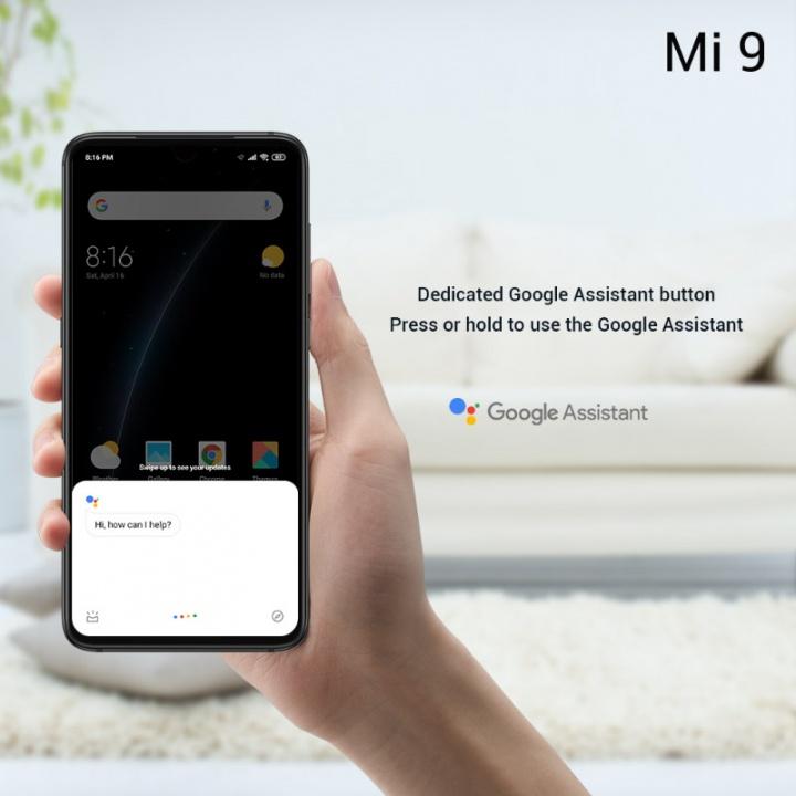 Xiaomi Mi 9 smartphone Android 2