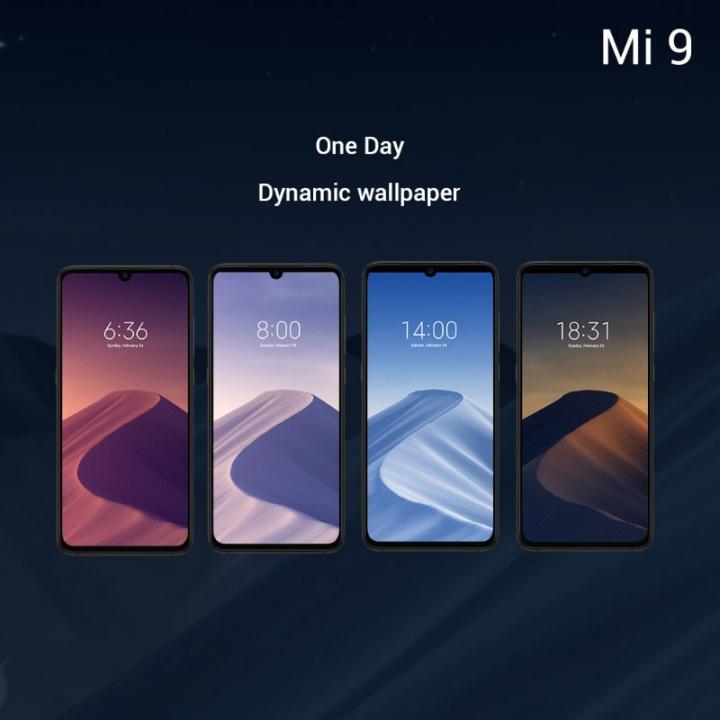 Xiaomi Mi 9 smartphone Android