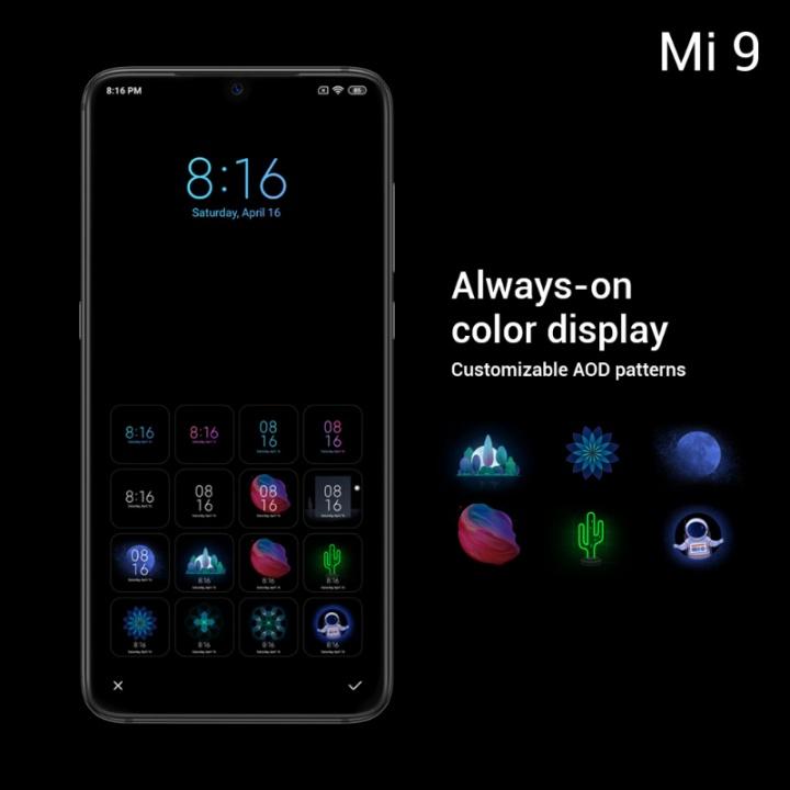 Xiaomi Mi 9 smartphone Android 4