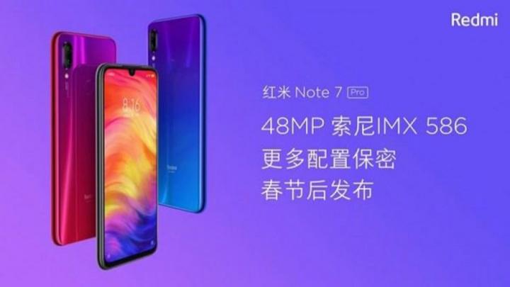 Xiaomi Redmi Note 7 Pro smartphone Android