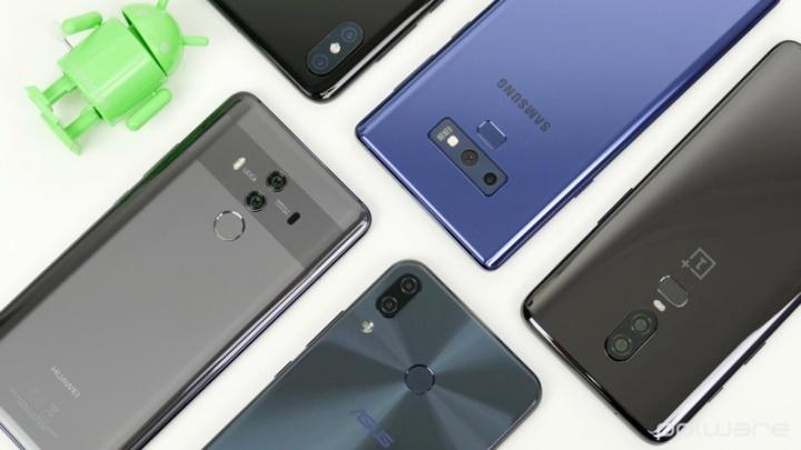 Huawei Oppo Samsung Apple Xiaomi