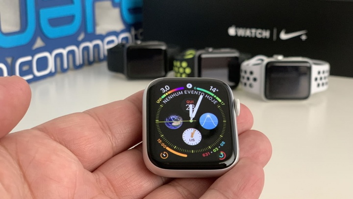 Imagem smartwatch Apple Watch Serie 4 LTE - relógios inteligentes