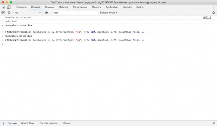 Chrome velocidade Internet Google API