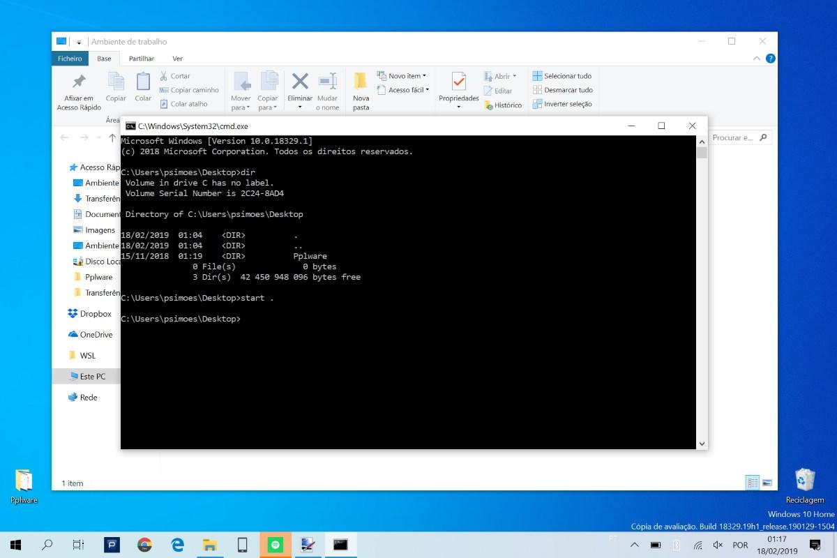 Uma das melhores dicas do Windows 10 e do DOS dos últimos tempos