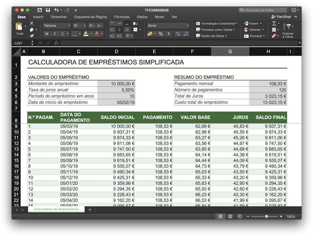 Excel 10 Folhas De Gestão Financeira Para Gerir A Sua Empresa