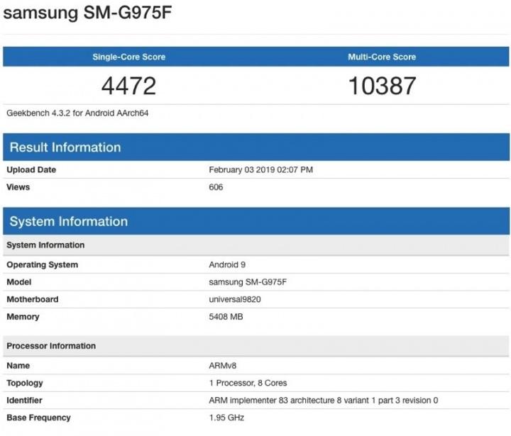 Galaxy S10+ desempenho iPhone XS Max Samsung testes