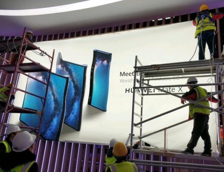 Huawei Mate X dobrável smartphone 5G