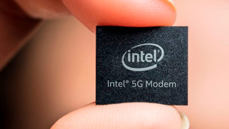 Intel 5G modem iPhone Apple