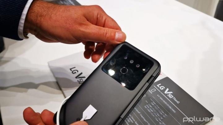 A LG também já entrou no 5G com o LG V50 ThinQ 5G