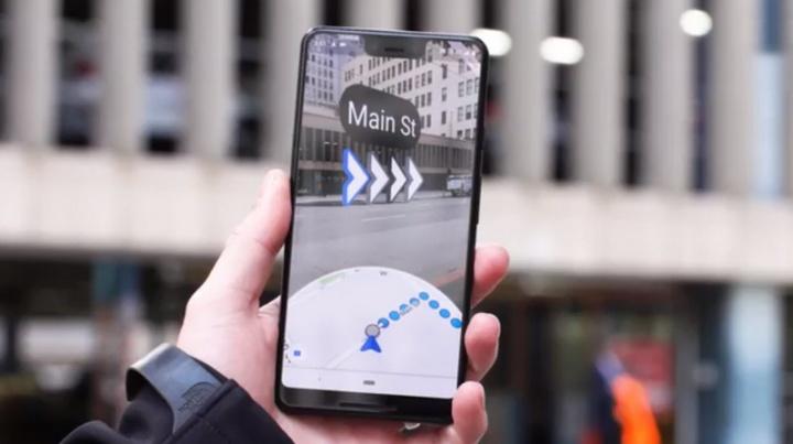 Google Maps realidade aumentada Android iOS