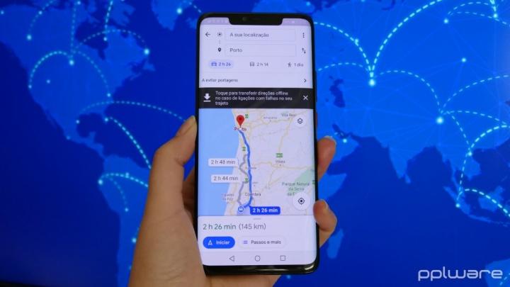 Google Maps locais de interesse
