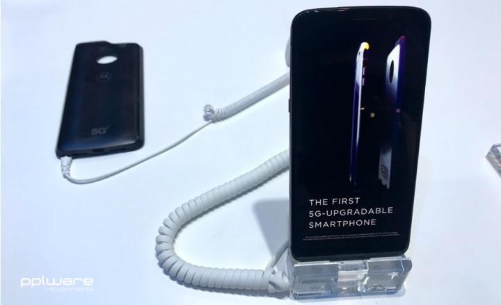 MWC19: Motorola lança mod para o Z3 para redes 5G