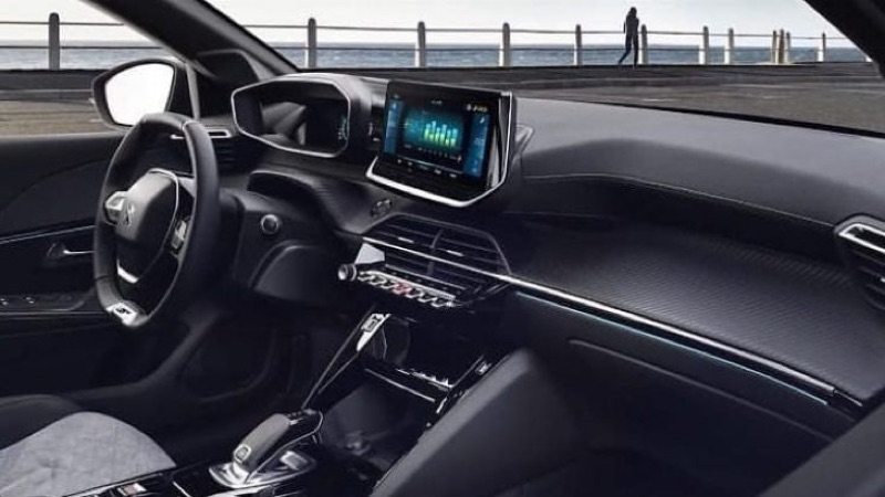 Peugeot e208 elétrico imagens carro