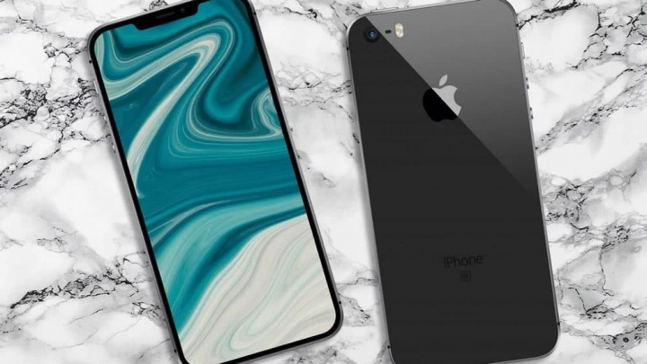 Imagem iPhone SE 2 que a Apple poderá lançar