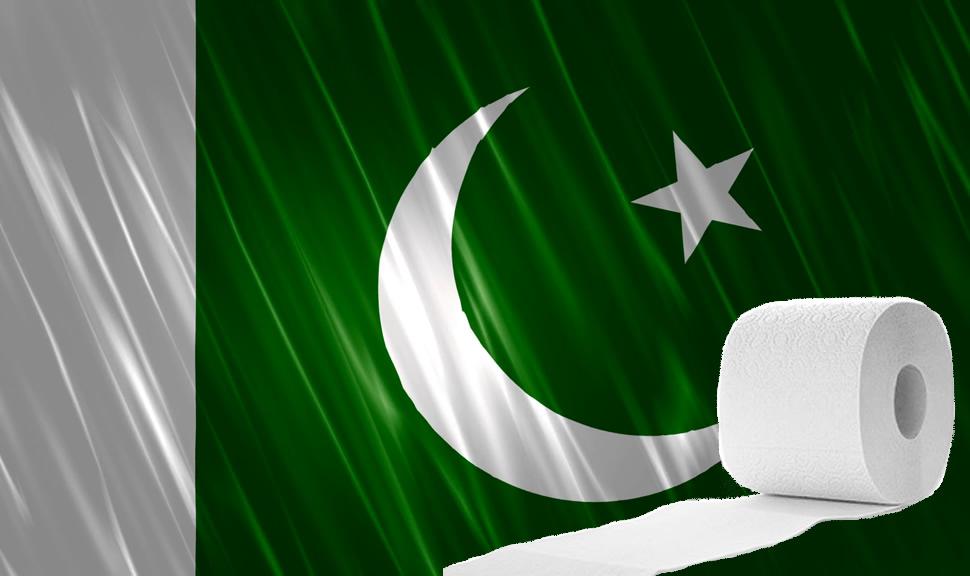 Pesquisa Google atacada para vincular bandeira do Paquistão ao papel higiénico