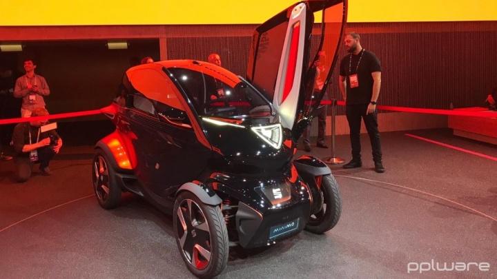 MWC19: SEAT Minimó - o elétrico que quer revolucionar a mobilidade Urbana
