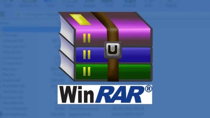 WinRAR Windows aplicação falha atualizar
