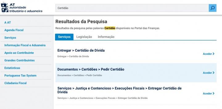 ce1f1fad9 Finanças  Como obter online a Certidão de liquidação de IRS